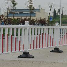 锌钢市政护栏安装效果图图片