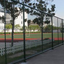 笼式足球场围网社区安装方案图片