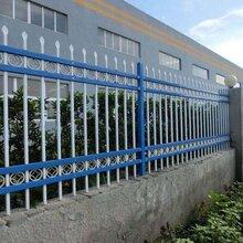 邯郸社区锌钢护栏厂家安装完工图片