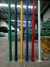 福建桃型柱护栏网厂家指导安装图片