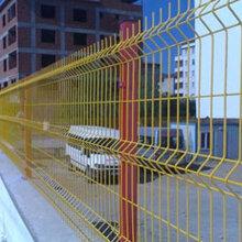 广西小区三角折弯护栏网的规格图片