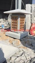 惠安工厂批发定制寺庙园林庭院用石雕灯笼石雕摆件石雕灯笼图片