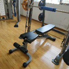 太原家用健身器材英派斯IFFID哑铃凳卧推凳