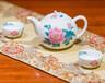 银银瓷器厂家直供醴陵釉下五彩瓷精品茶具商务礼品物美价廉现货供应