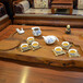 银银瓷器醴陵釉下五彩瓷追月茶具,醴陵瓷器,釉下彩手绘瓷器茶具定制logo