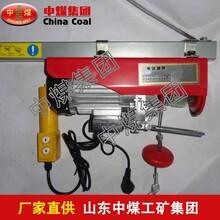 微型电动葫芦,中煤微型电动葫芦,电动葫芦图片