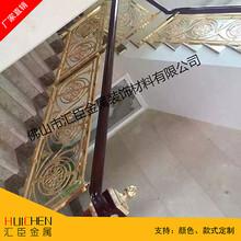 旋转楼梯,铜艺楼梯,铜艺旋转楼梯,铜艺楼梯厂家图片