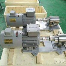 濟南州港流體專業生產FA-20保溫型硬脂酸不銹鋼齒輪計量泵圖片