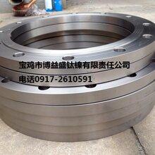 钛法兰板式平焊钛法兰带劲钛法兰生产厂家图片