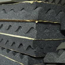 厂家出售橡塑贴铝箔防火保温材料橡塑板贴铝箔图片