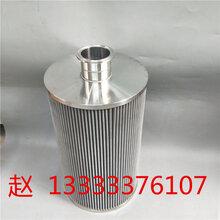 定做304不锈钢折叠网滤芯510目520目自洁式空气过滤器滤芯内牙