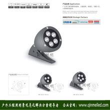 供应圆形3W大功率LED瓦面射灯/古建瓦面射灯图片
