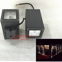 供应18W正方形上下照LED双头壁灯墙柱墙体立面景观照明首选图片