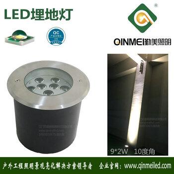 供应直径210MM大18W大功率LED埋地灯(专注埋地灯)