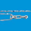 厂家直供铝包钢丝预绞式光缆金具紧线耐张线夹预绞丝保护金具接续金具