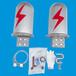 廠家熱銷桿塔光纜金具電力器材鋁合金OPGWADSS12芯24芯48芯光纜接頭盒不銹鋼接頭盒