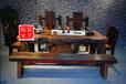老船木家具茶桌椅子现代简约茶几实木功夫茶台客厅阳台泡茶艺桌