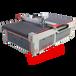 皮革沙发圆刀裁剪机MC1625环保无烟全自动裁剪设备沙发布料裁剪机