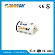 一次性锂电池ER14250(电表、无线定位、传感器)