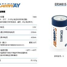 物联网电池ER34615容量型可搭配超级电容3.6V19Ah