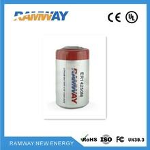 物联网电池IOT电池ER14250M3.6V800mah锂亚功率型