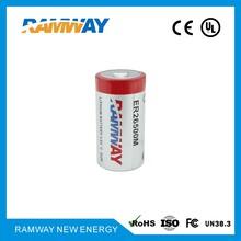 低功耗锂亚电池ER26500M功率型3.6v6500mAh