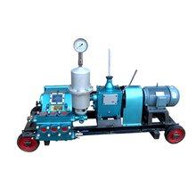 云南曲靖市封孔注浆机矿用泥浆泵小型柱塞泵-BW150三缸泵图片