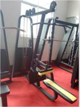 健身器材批发山东丰航必确自由力量高低拉一体机训练器商用