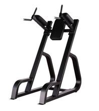 室内健身器材批发厂家山东丰航商用健身房用自由力量必确双杠提膝训练器
