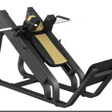 健身器材直销厂家山东丰航室内商用健身房用自由力量必确斜蹲机训练器