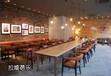 西安星巴克咖啡厅实木家具定做
