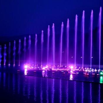 景观冷雾喷泉工程人造雾设备制作安装雕塑喷泉动感音乐喷泉价格
