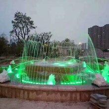 大小行音樂噴泉設計制作室內噴泉水池噴泉價格旱式噴泉程控噴泉圖片