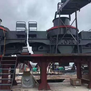 河南友邦河間石機器制碎成0-5mm砂子5x制砂機
