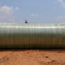 三级储水灌化粪池玻璃钢化粪池安装方便图片