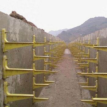 玻璃钢电缆槽支架电缆支架电力井三角支架施工方案