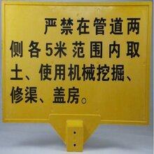 玻璃钢标志桩生产厂家警示牌直销图片