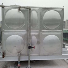 房顶玻璃钢节能水箱水箱摆放标准图片