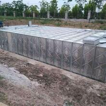 水箱玻璃钢开式抗震水箱设计图图片