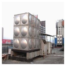 玻璃鋼溢水水箱貴陽組合不焊接水箱圖片