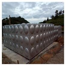 哈爾濱抗震密封水箱霈凱不銹鋼方形水箱定制圖片
