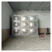 長方形不銹鋼水箱大同抗震消防水箱圖片