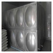 原水處理水箱長春玻璃鋼整體工程水箱圖片