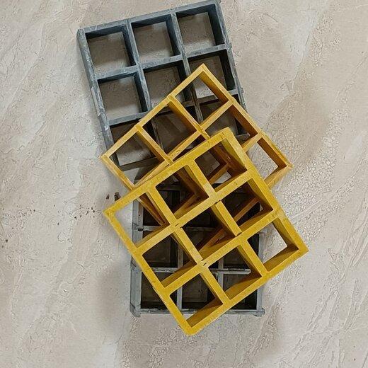 本溪生產水溝蓋板格柵玻璃鋼加厚網格柵板