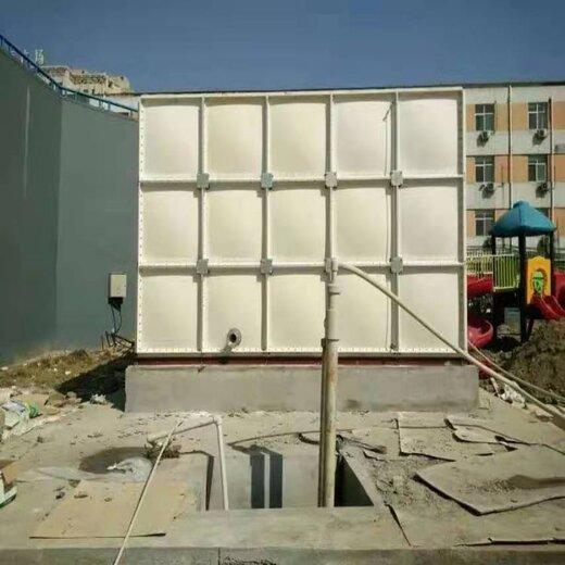 永新BDF地埋貯存水箱定制屋頂用熱鍍鋅方形水箱