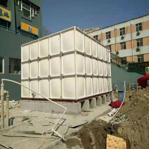 來賓復合樹脂不銹鋼成品水箱定制工地用供水水箱