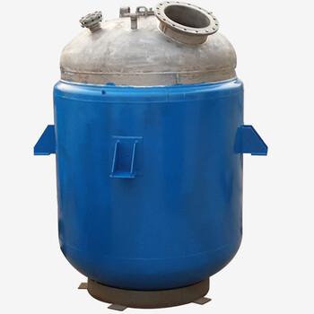 500L不銹鋼導熱油加熱反應鍋化工反應設備機械密封反