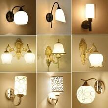 保定壁灯床头灯墙壁卧室简约现代创意欧式美式客厅led楼梯过道灯具