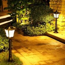 石家庄太阳能庭院花园灯户外防水路灯欧式草坪灯家用超亮太阳能灯
