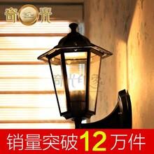 深圳欧式壁灯床头卧室户外灯过道阳台庭院防水灯具复古墙壁灯led客厅